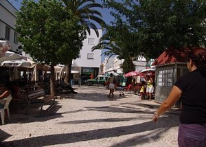 strand fuseta de algarve portugal