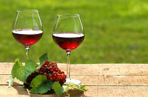 A taste of the Algarve: A glass of wine
