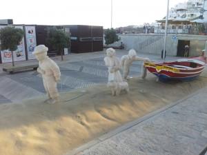 Albufeira guide, Albufeira beach Art