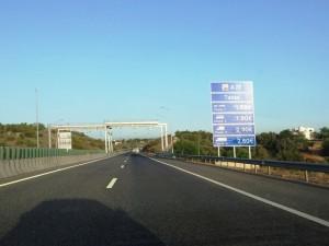Algarve A22 tolls 2012
