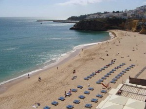 Algarve Beach Image