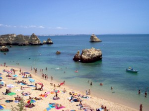 Dona Ana beach Lagos Portugal image